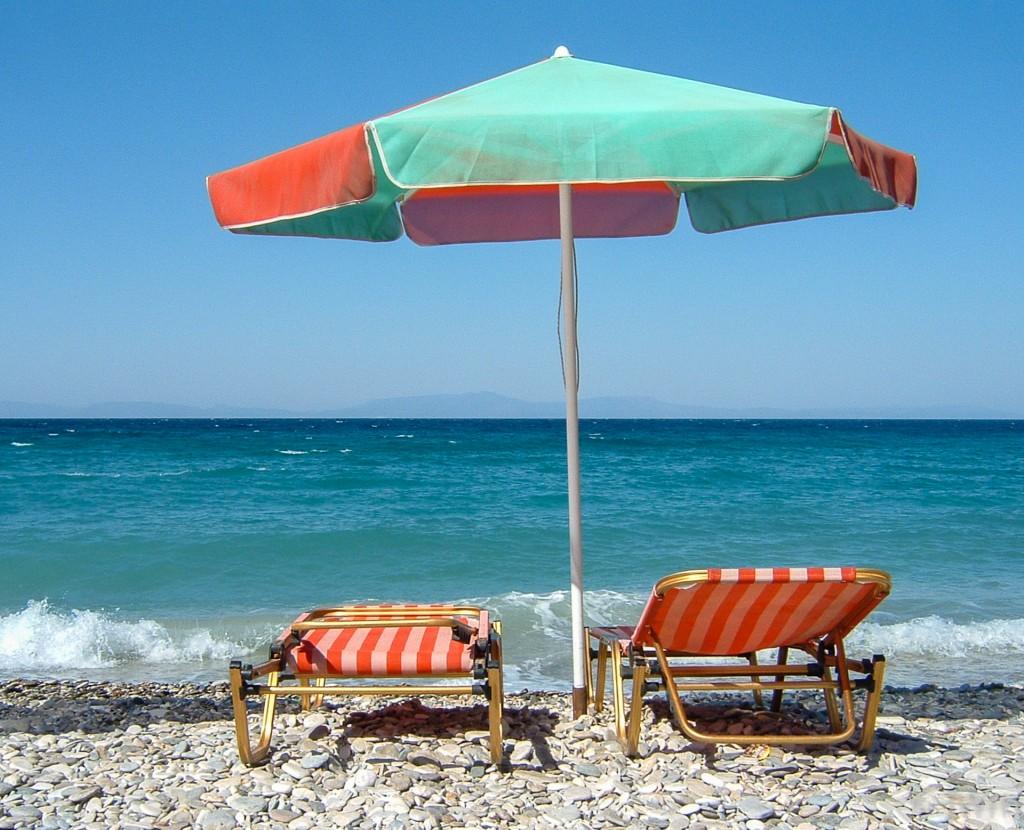 Strand in Samos